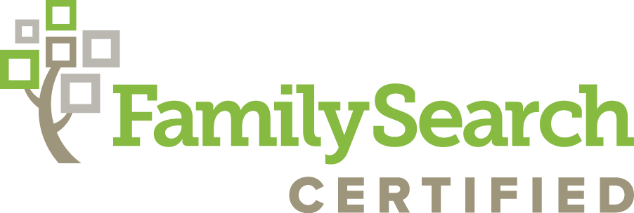 FamilySearch Certified Logo